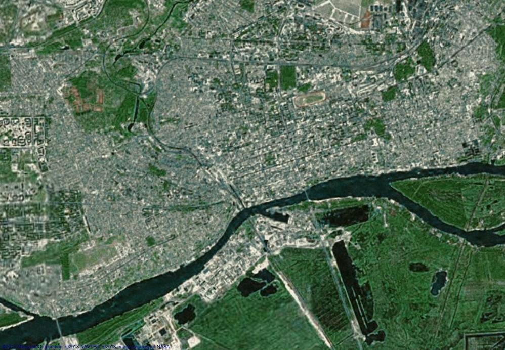 Карта со спутника
